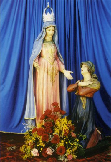 La veneranda statua della Madonna del Caravaggio