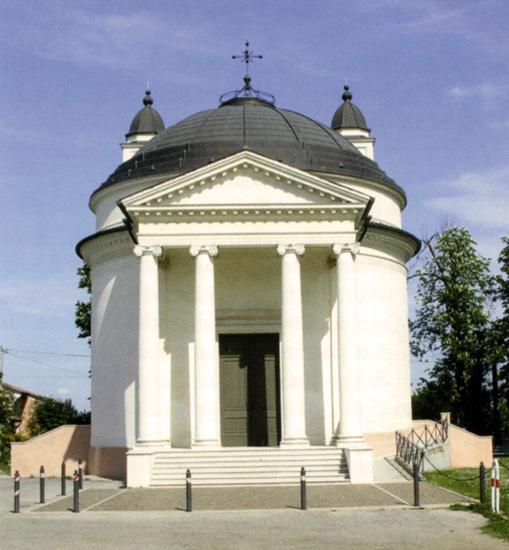 Visione esterna del Santuario della Madonna del Caravaggio