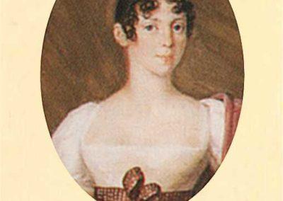 Josef Lanzedelli, 1810 . Ritratto della contessa Teresa Pola, Particolare
